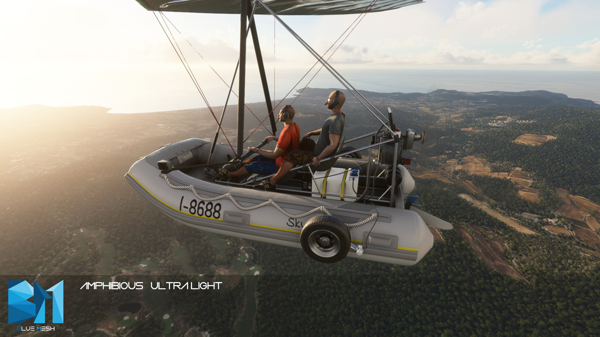 The Flying Inflatable Boat is real and is now available for MSFS