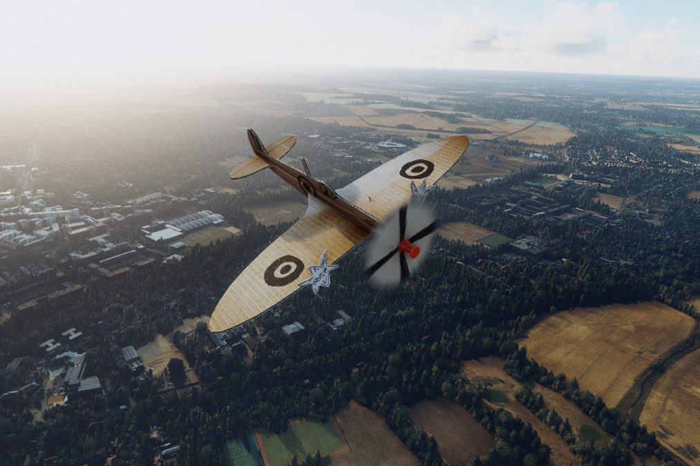 Aeroplane Heaven finally releases their Spitfire… in cardboard. And for free!