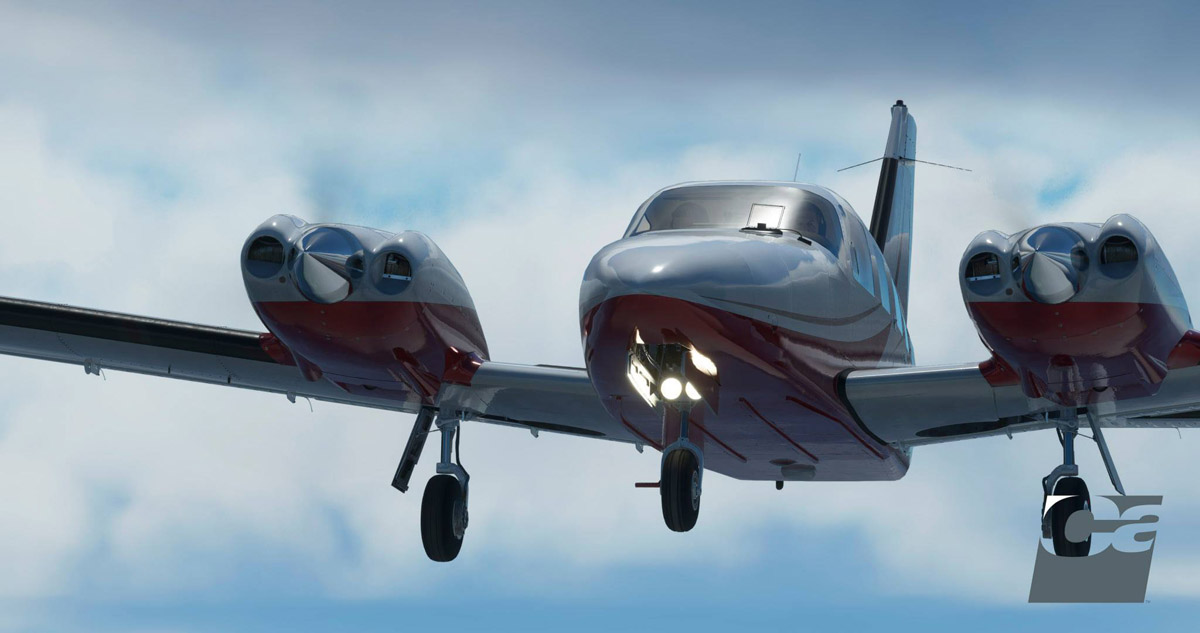 Carenado releases the P34T Seneca V for Flight Simulator