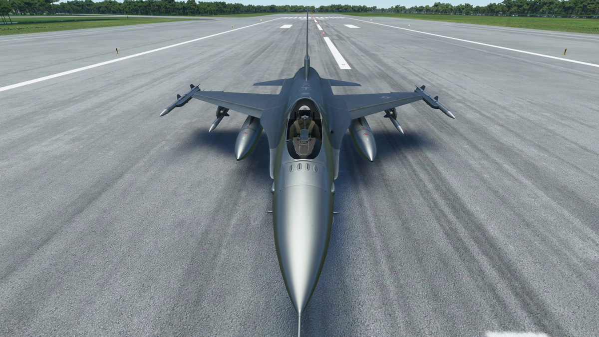 The F-16V Viper is now available for Flight Simulator (not anymore)