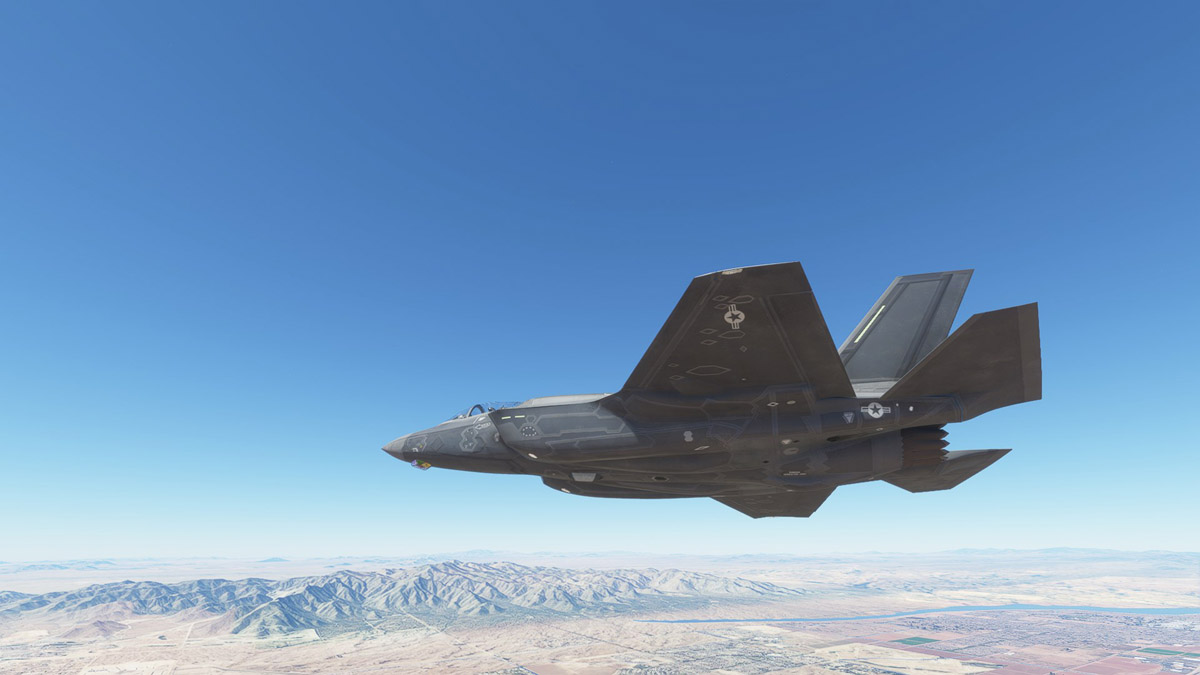 The F-35 Lightning is Indiafoxtecho's next airplane for MSFS, expected to release in July