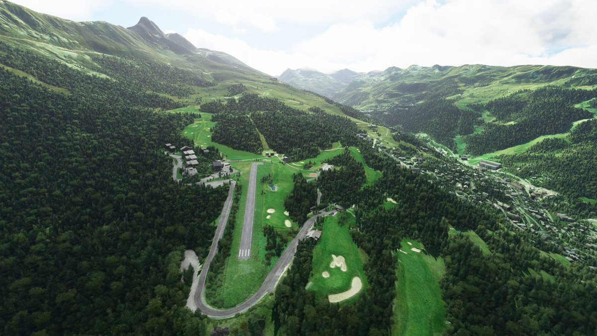 Orbx releases Meribel Airport and Key West International Airport for MSFS