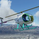 Mini 500 helicopter MSFS 1