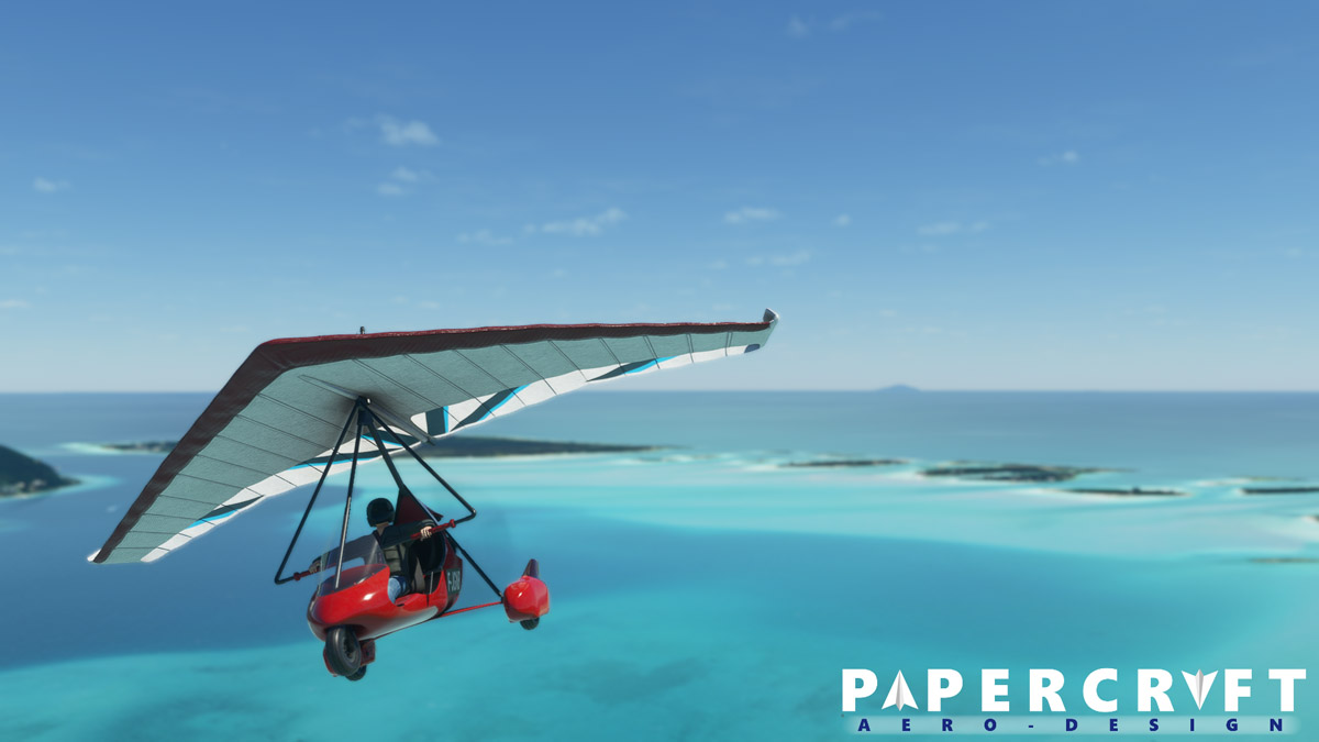 Missing the old FSX Trike Ultralight? You can now get it in MSFS too
