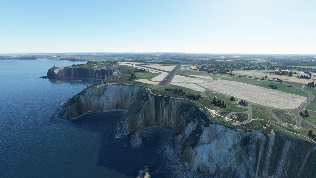 Aerosoft releases Perranporth Airfield (UK) for MSFS