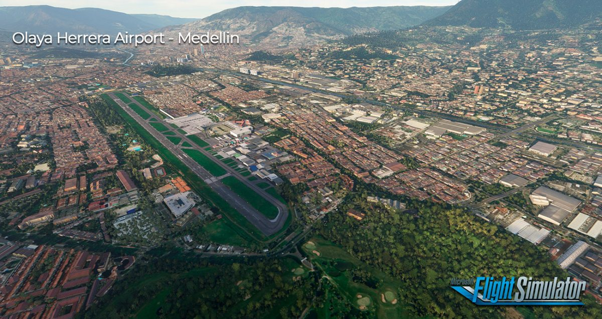 Sierrasim releases two Colombian airports for MSFS: Olaya Herrera and Jorge Isaacs
