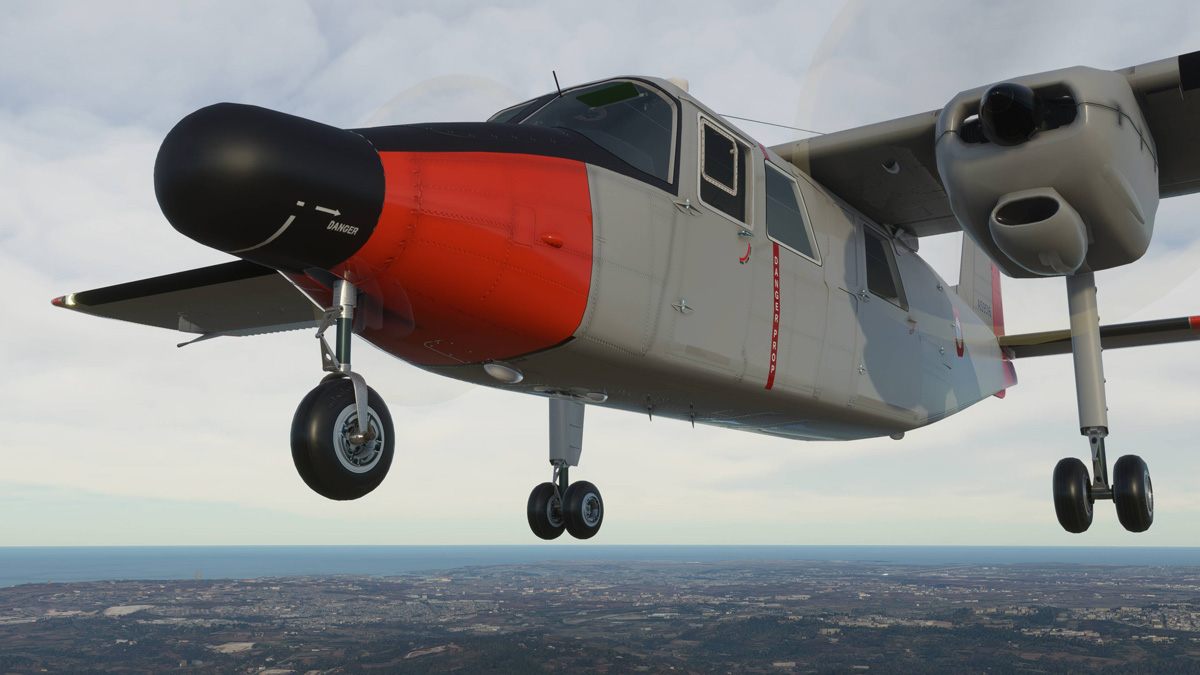 Britten-Norman BN-2 Islander coming soon to MSFS, by Black Box Simulation