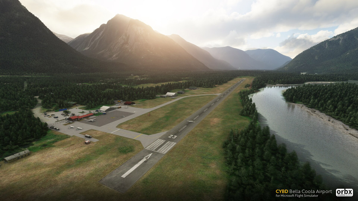 Orbx releases stunning Bella Coola Airport for MSFS