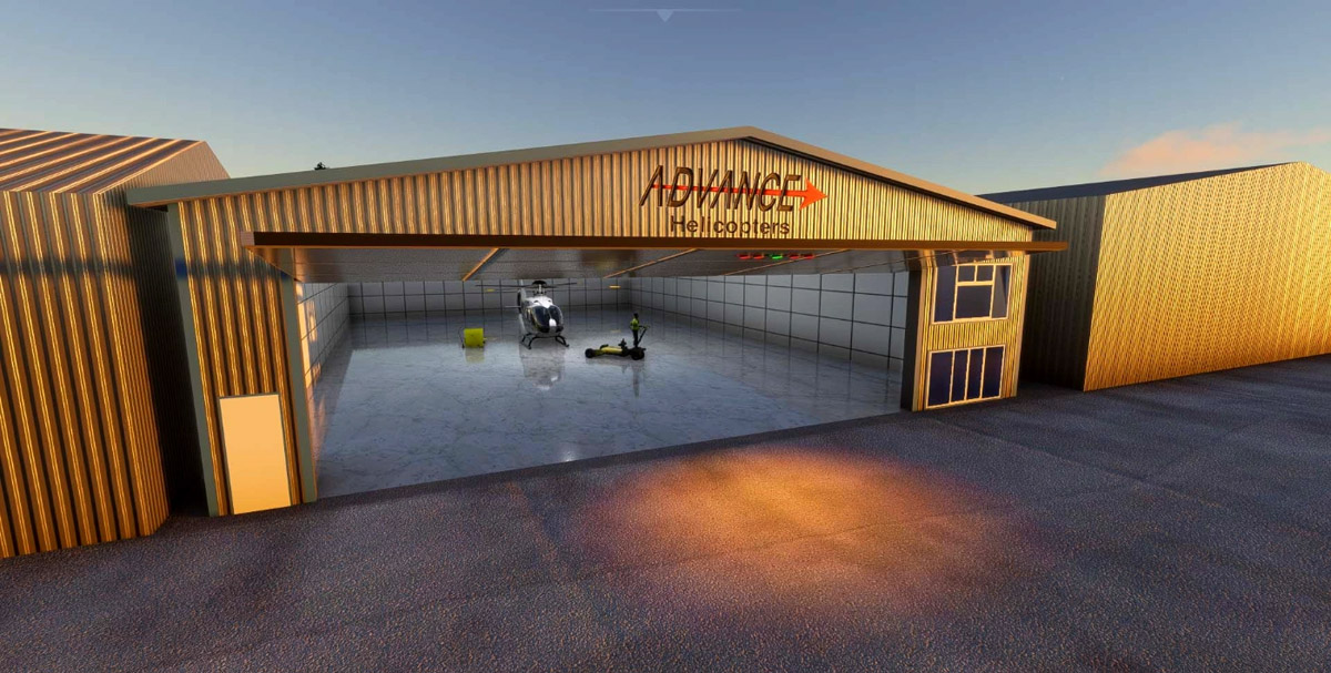 Here's an excellent freeware recreation of the oldest airport in the UK – Brighton City Airport