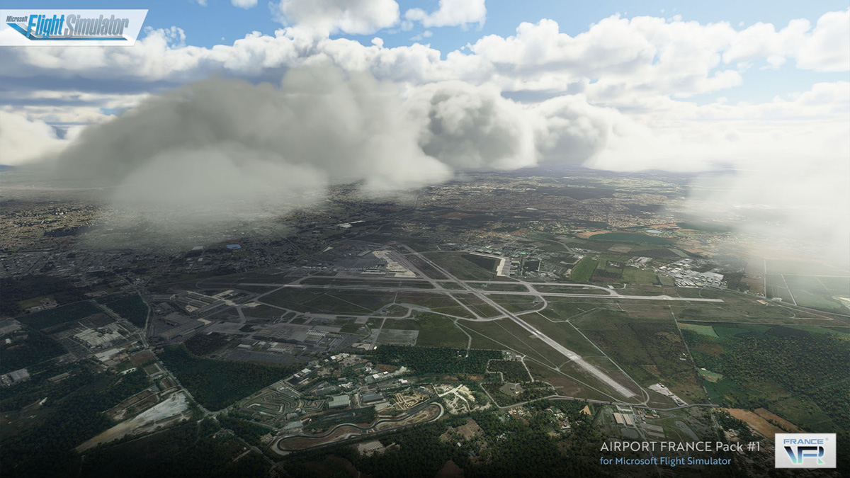 FranceVFR launches 5 French airports for Flight Simulator