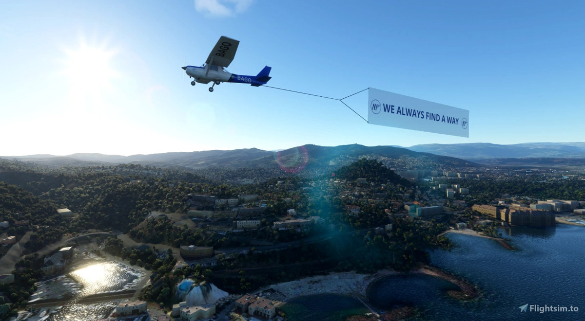MSFS Banner Tow 2
