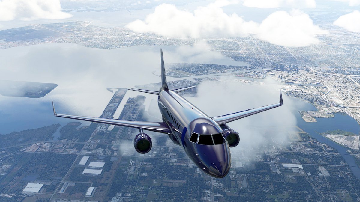 A first look into Ouroborus' Embraer E-Jets for MSFS