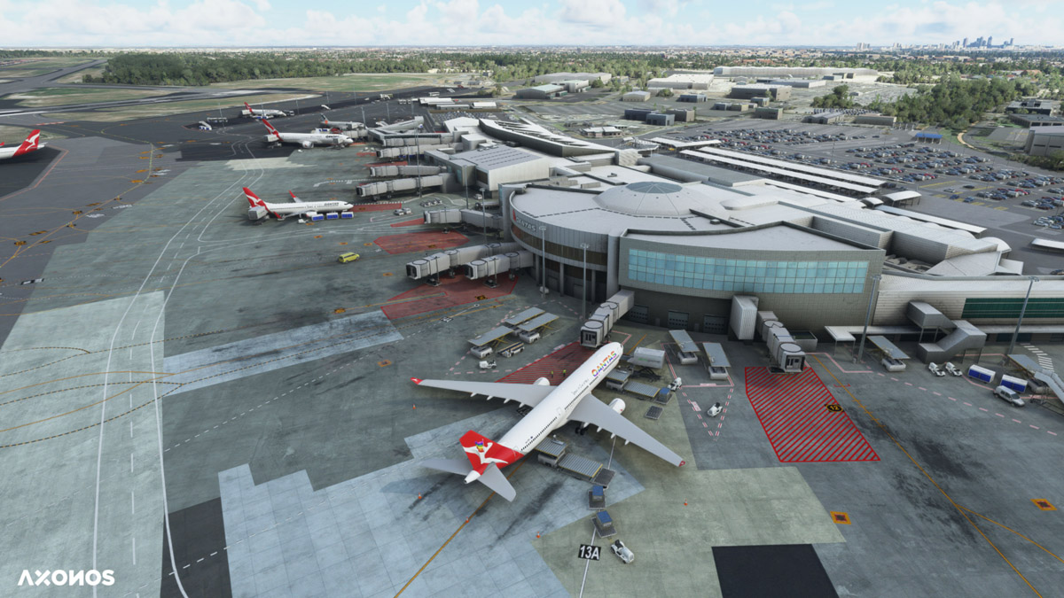 Perth Airport YPPH MSFS 1
