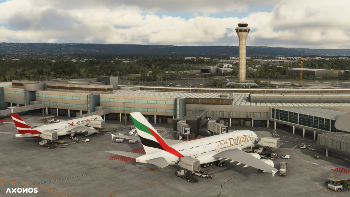 Perth International Airport released for MSFS, by Axonos
