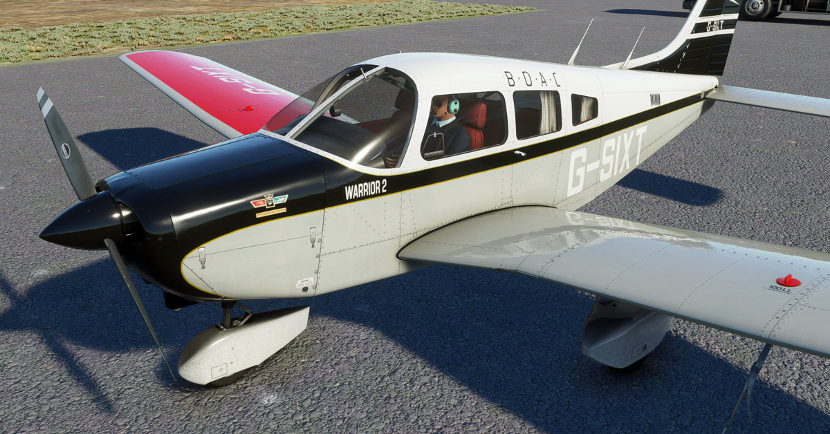 (New images!) Just Flight teases a new Piper for MSFS: the Warrior II