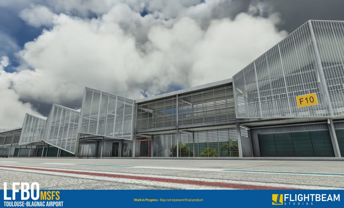 Toulouse airport lfbo msfs1