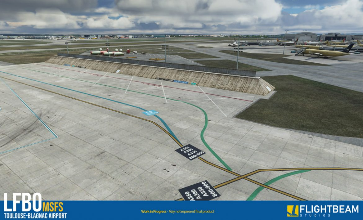 Toulouse airport lfbo msfs2