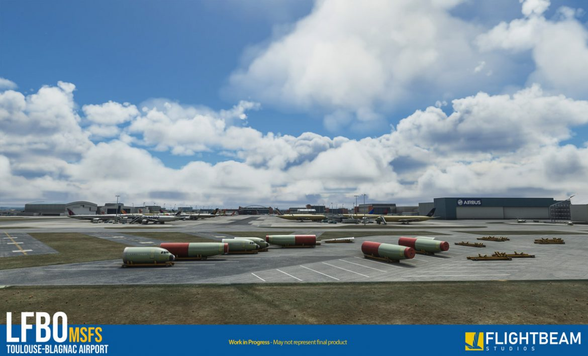 Toulouse airport lfbo msfs4