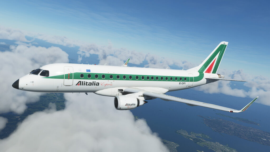 The Virtualcol Embraer 170/175 Series is now available for MSFS