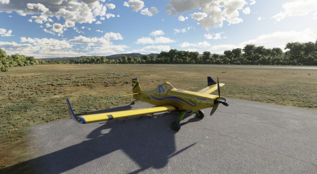 Embraer Ipanema crop duster msfs 1