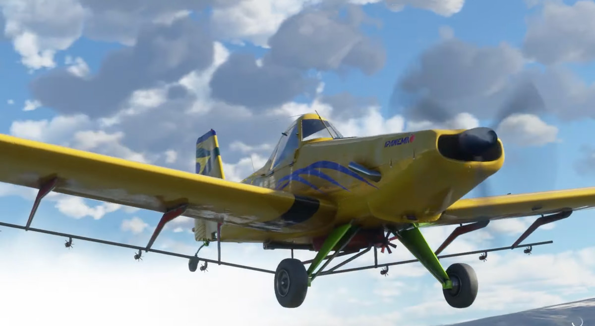 BRsim Designs releases the Embraer EMB 202 Ipanema for MSFS