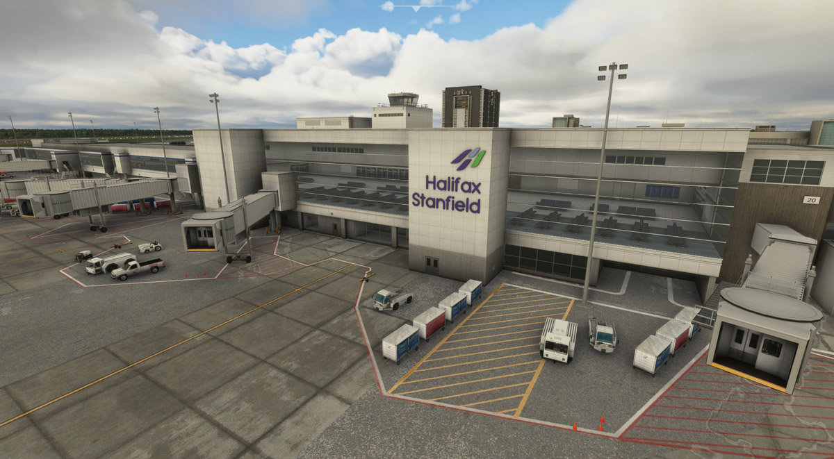FSimStudios releases Halifax Stanfield International Airport for MSFS