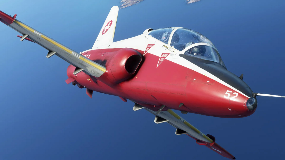 Just Flight shares new images of the Hawk T1/A
