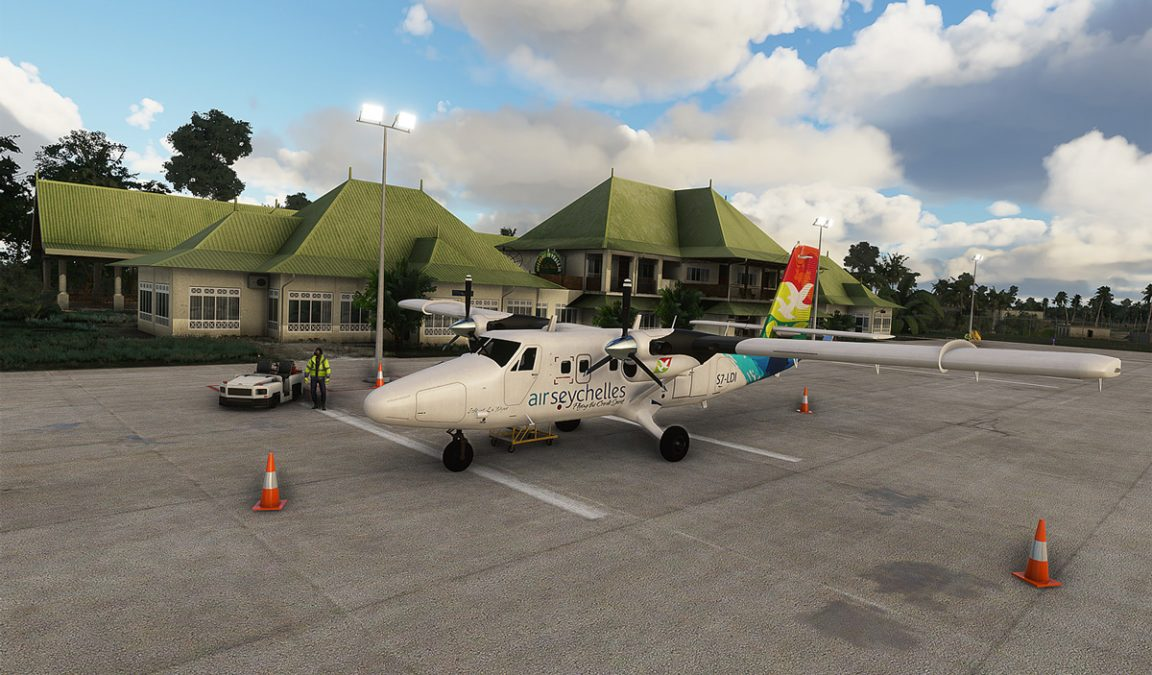FSDG releases Seychelles scenery and airports for MSFS