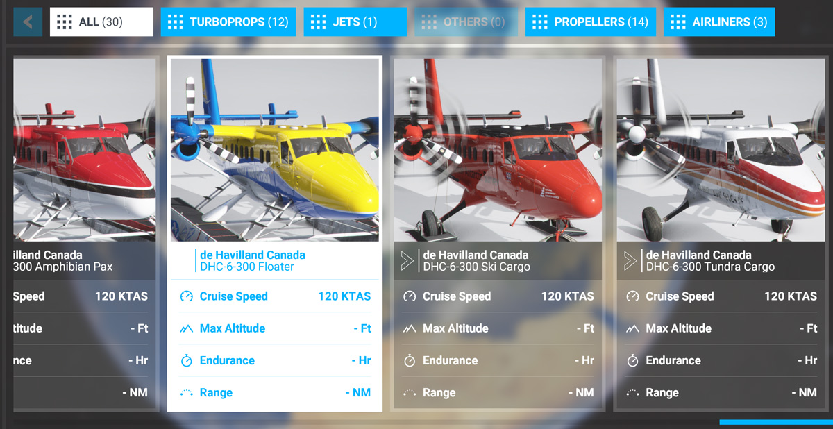 The Twin Otter from Aerosoft will come in a wide variety of configurations, looks almost ready to release