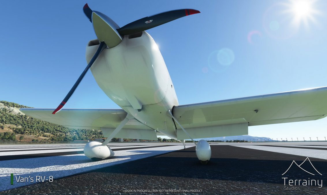 The Van's RV-8 is coming to MSFS, by Terrainy Studios
