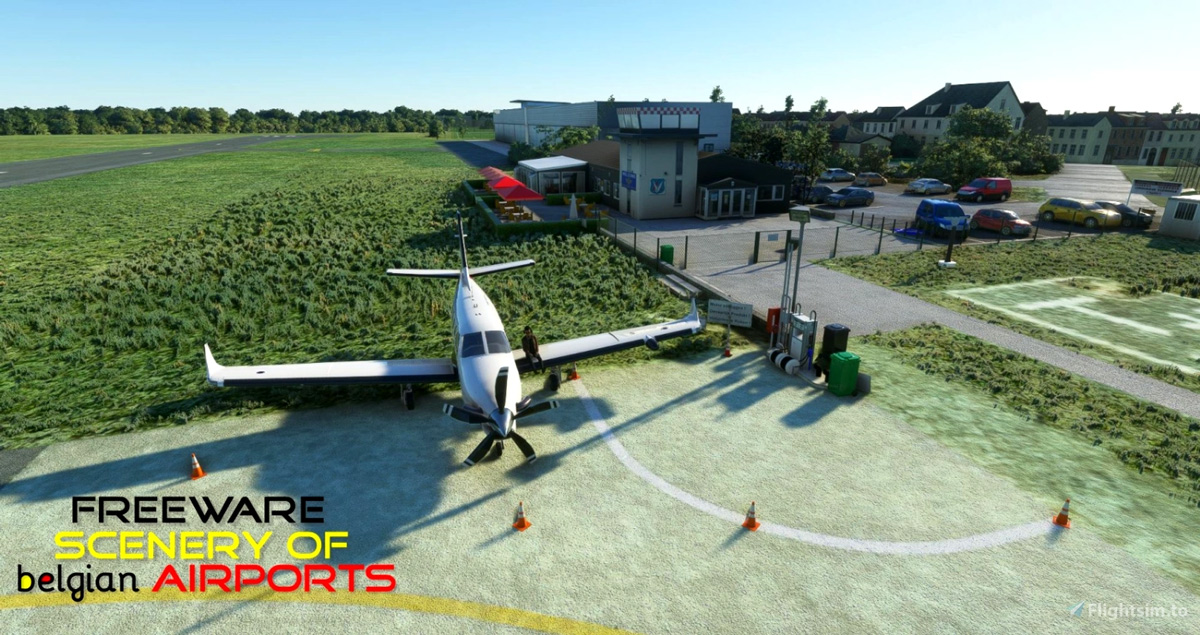 Check out this impressive collection of 27 freeware Belgium Airports for MSFS