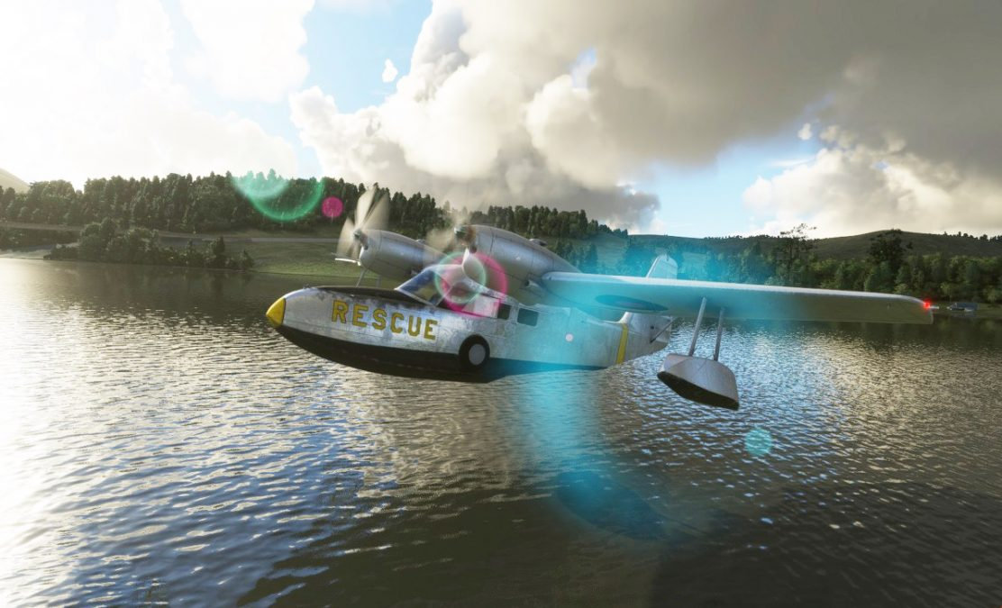 A new classic amphibious: Flysimware releases the Grumman G-44A Widgeon for MSFS