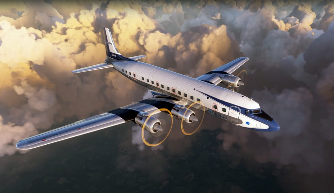 Prepare your wallets! The DC-6 from PMDG is now available for MSFS