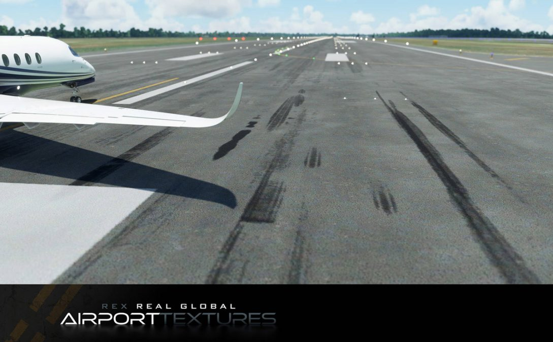 (Now available!) REX Real Global Airport Textures revealed for MSFS