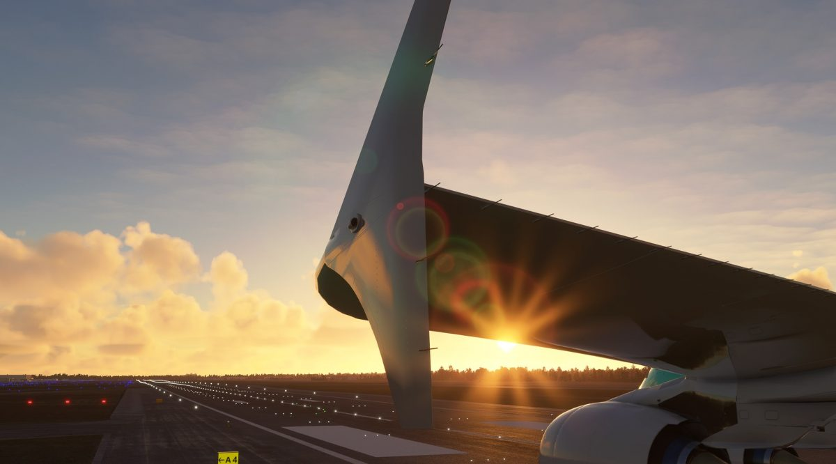 FlyByWire teases its Airbus A380 with a new image