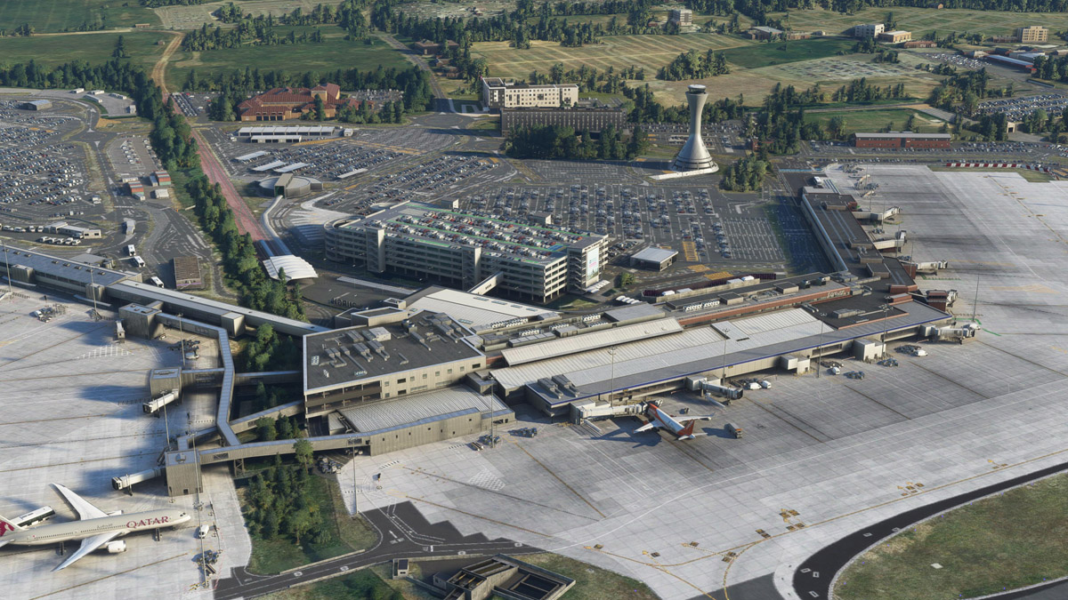 Edinburgh Airport (EGPH) now available for MSFS