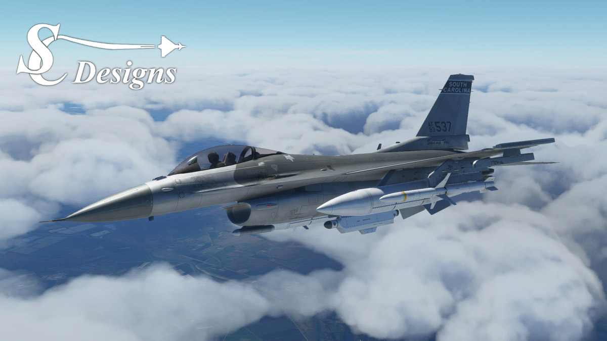 The F-16 Fighting Falcon is coming to Flight Simulator this fall