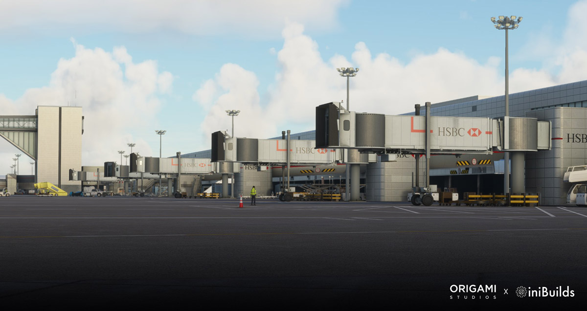 Gatwick Airport (EGKK) announced for MSFS by iniBuilds and Origami Studios