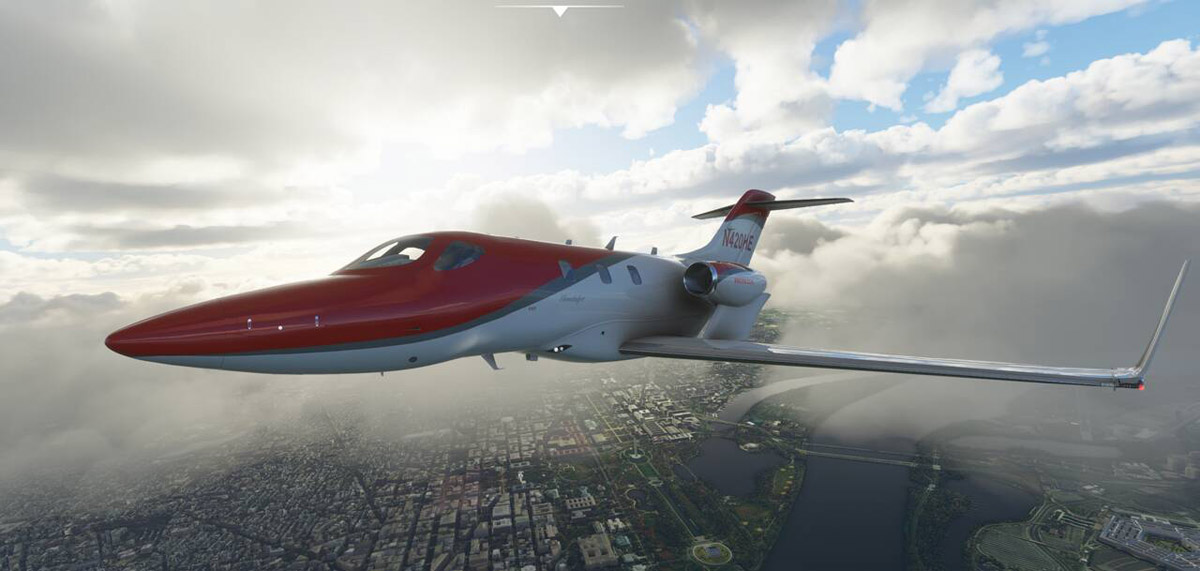 (New images!) Looking for a new business jet in MSFS? There's a very good-looking HondaJet currently in development