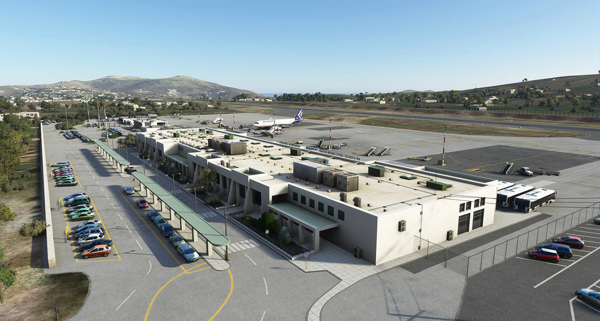 Mykonos Airport now available for Flight Simulator