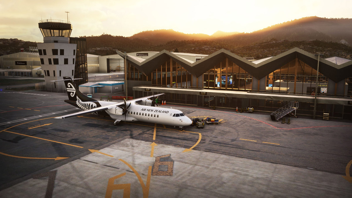 NZA Simulations releases astonishing sceneries for Nelson Airport (NZNS) and Motueka (freeware)