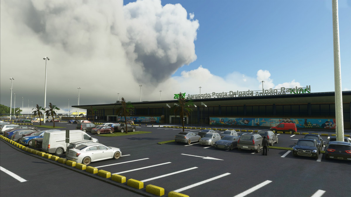 Visit the beautiful Azores with MK-STUDIOS's Ponta Delgada Airport for MSFS