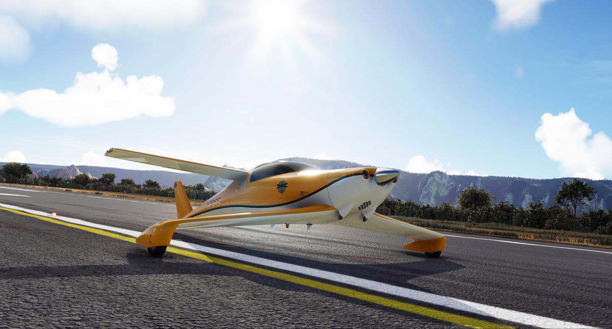 Lionheart Creations reveals the Q200 Dragonfly for Flight Simulator