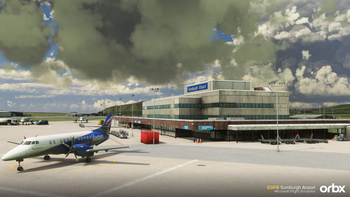 A new Scottish airport: Orbx releases Sumburgh Airport (EGPB) for MSFS