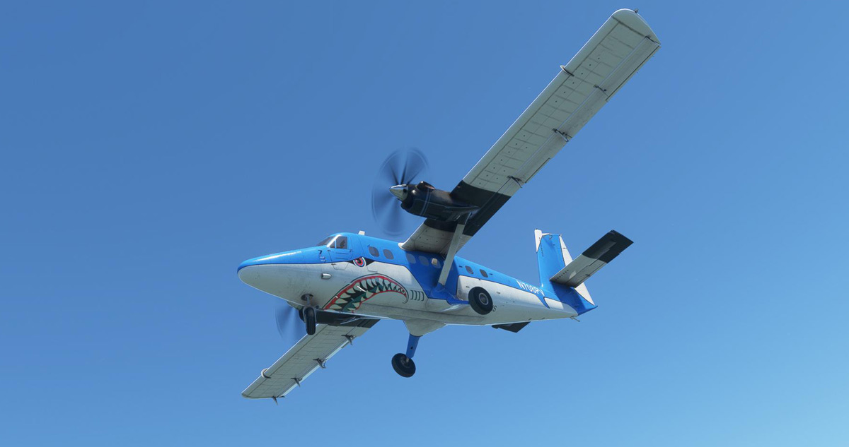 The Twin Otter from Aerosoft gets its first video showing animations and sounds