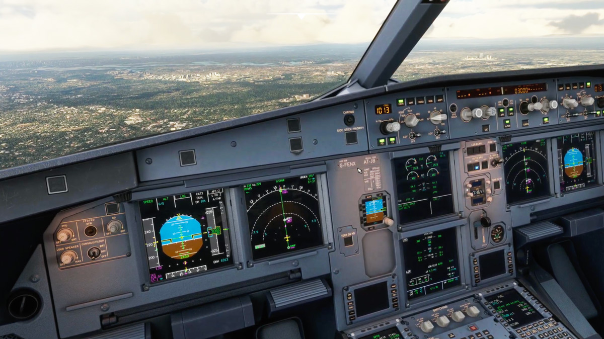 Here's the first video of the Fenix Simulations A320 in action
