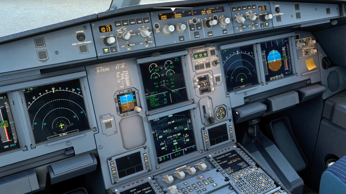 Fenix Simulations shows the remarkable simulation of its A320 fuel and hydraulic systems