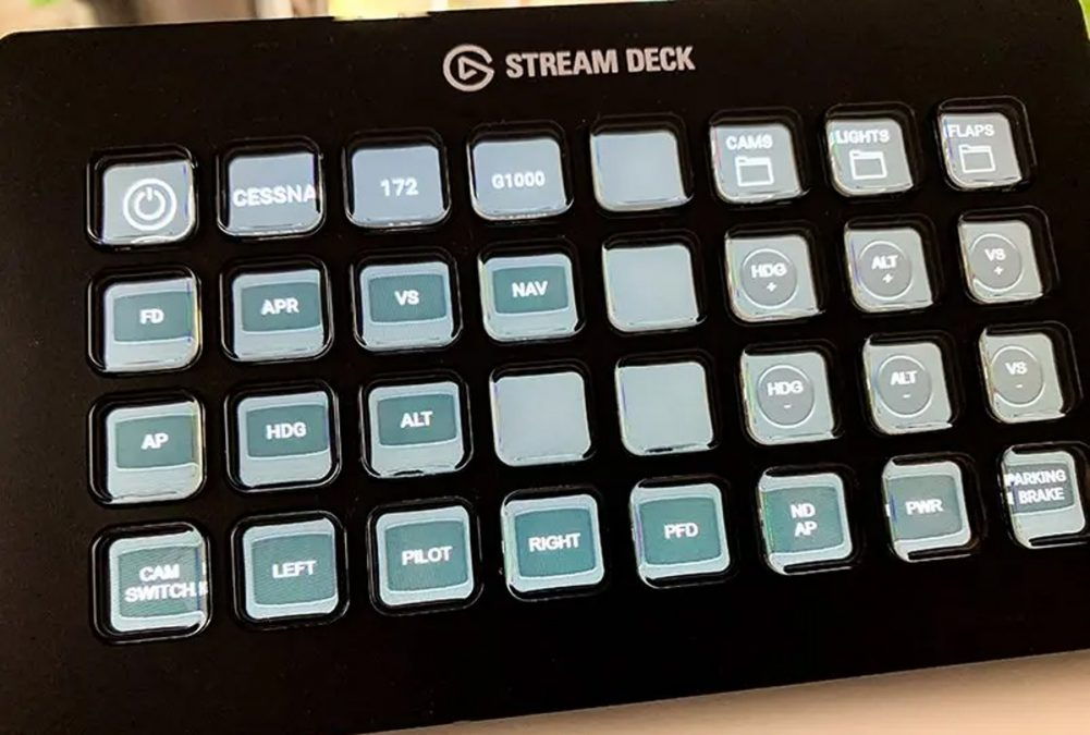 FlightDeck 1.0 now available, allows the use of Stream Deck with Flight Simulator