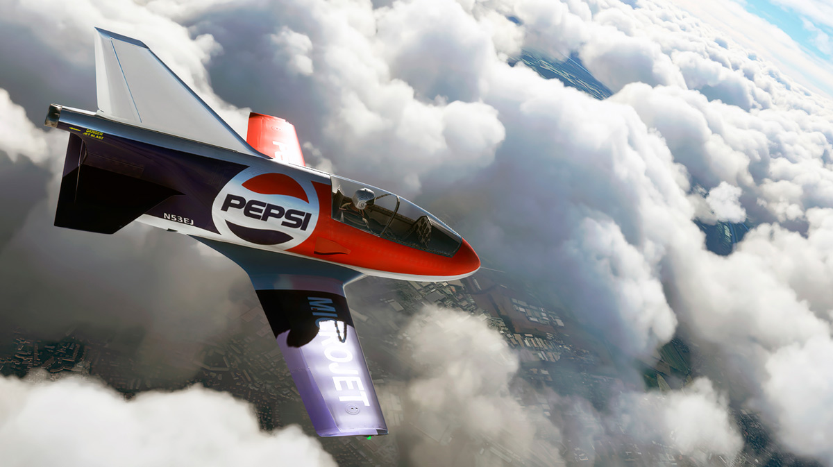 AzurPoly releases the BD-5J for MSFS, the world's smallest jet aircraft