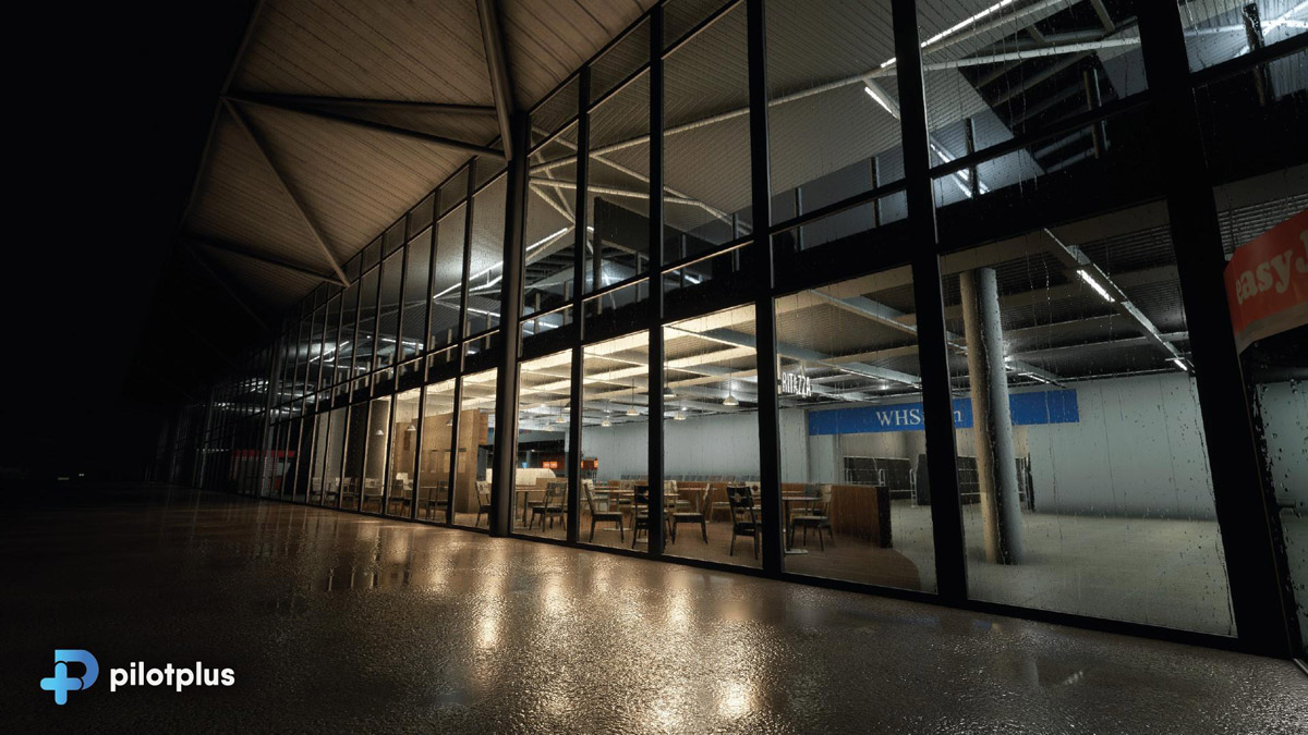 Pilot Plus previews impressively detailed Bristol Airport for MSFS